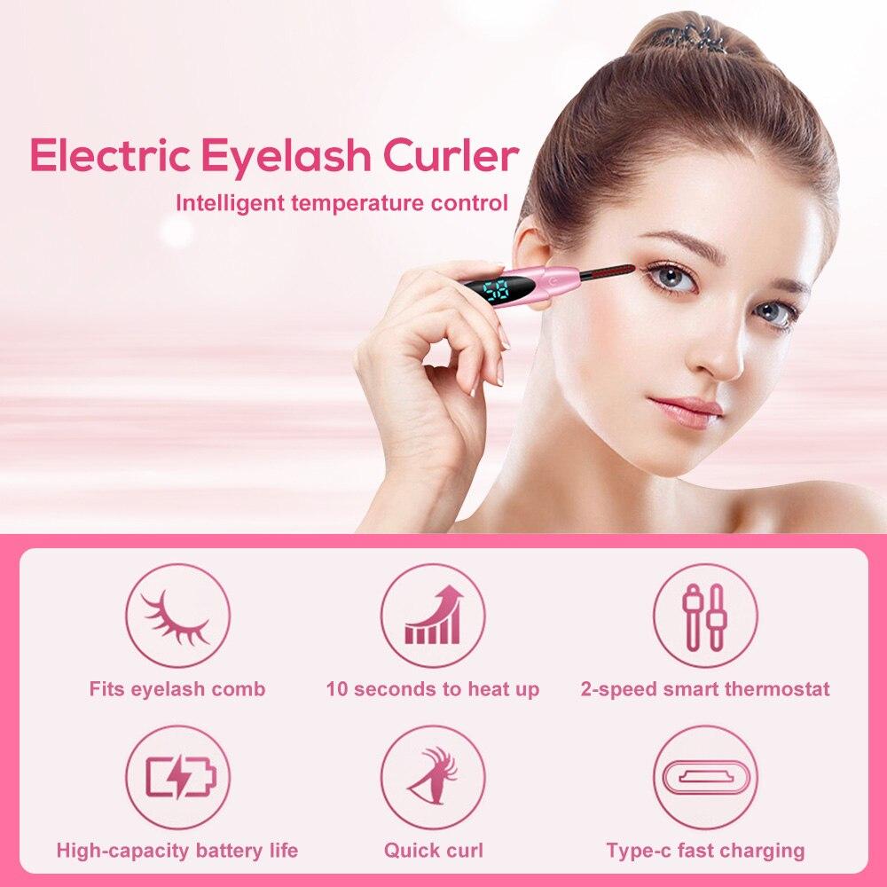Mini Heated Eyelash Curler