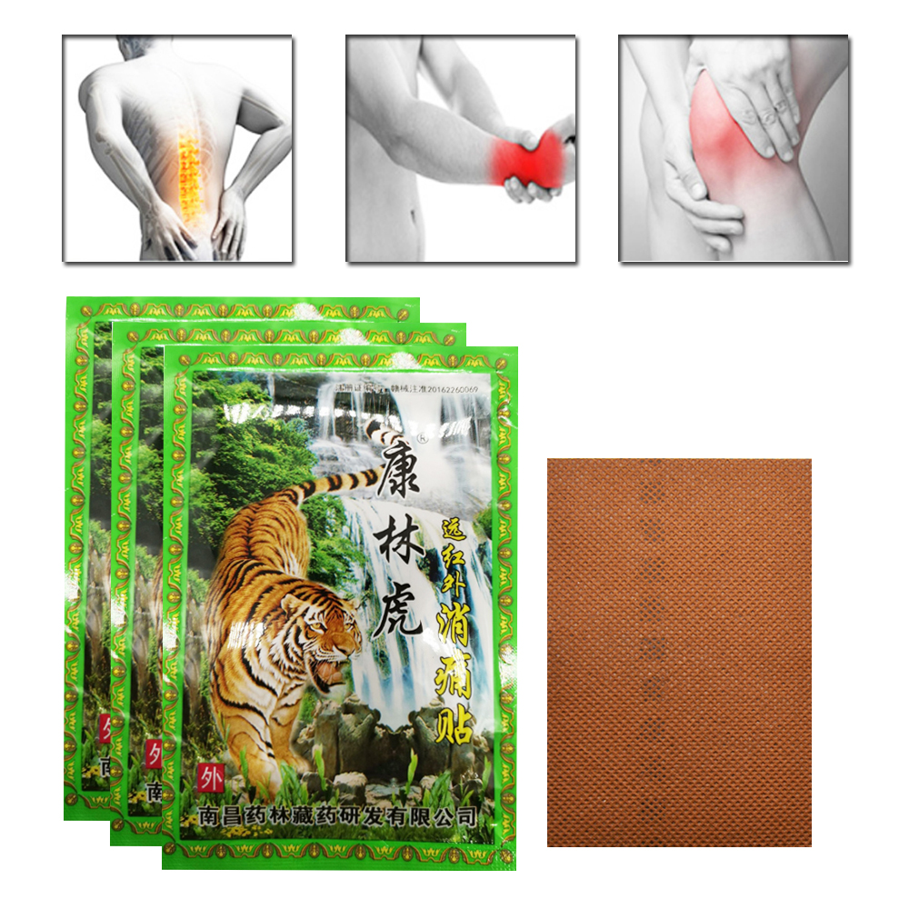 8/24pcs  Rheumatism Blam Pain Massage Patches Herbal Medical Plaster Muscle Back Neck Pain Relieving D401