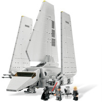LELE Star Wars 35005 Classic Imperial Shuttle Building Blocks Brick model building kit Compatible legoinglys 10212 Toy plane