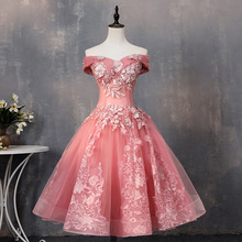 Ball-Gown Quinceanera-Dress Lace Party Vintage Luxury Neck Gryffon Boat Elegant