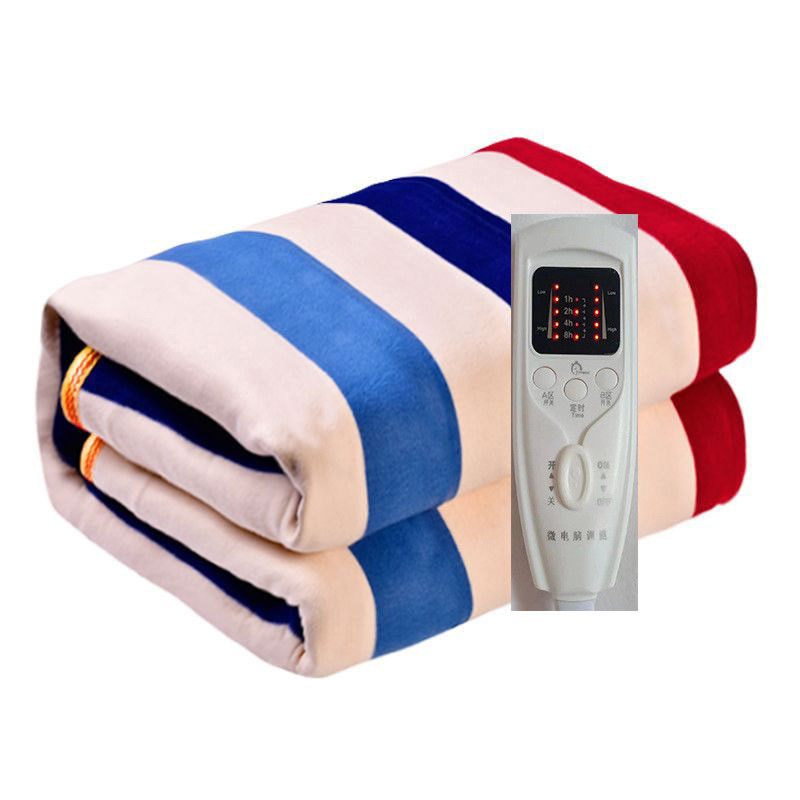 Electric Blanket Thicker Heater Double Body Warmer Heated Blanket Thermostat Electric Heating Blanket Electric Heating