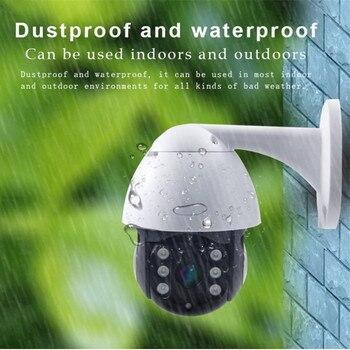 Камера видеонаблюдения, купольная Ptz камера, 1080 пикселей, внешняя, Wi Fi, для наблюдения за домом