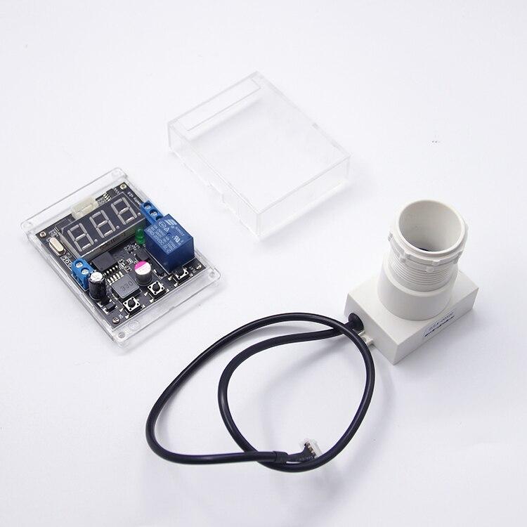 Небольшой угол Ультразвуковой Модуль с дисплеем Расстояние регулируемое расстояние релейный выход Интегрированный датчик