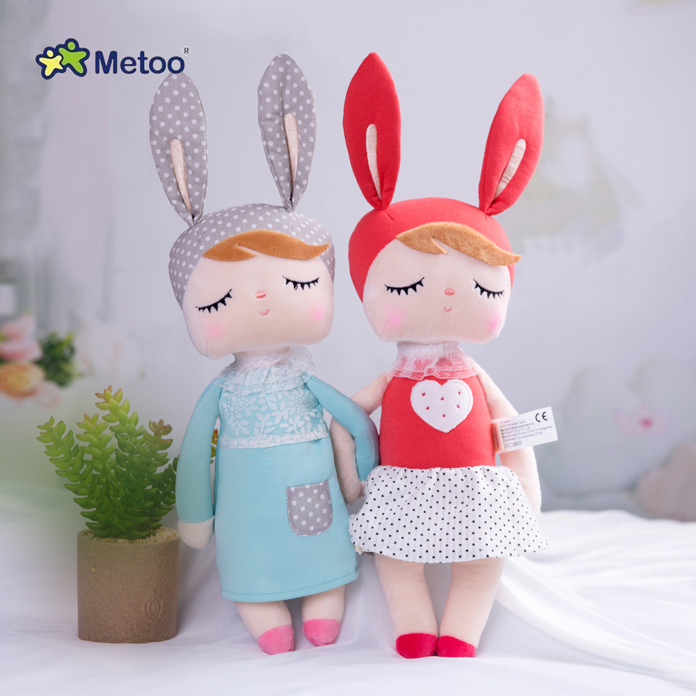 2020 Newest Style Sweetheart Original Metoo Angela Rabbit High Quality Cute Plush Doll For Baby Kids Christmas Thanksgiving