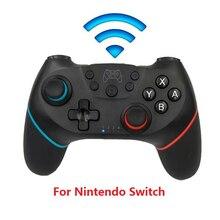 Manette Bluetooth pour manette Nintendo Switch NS Switch Pro NS Pro manettes de jeu sans fil avec poignée 6 axes