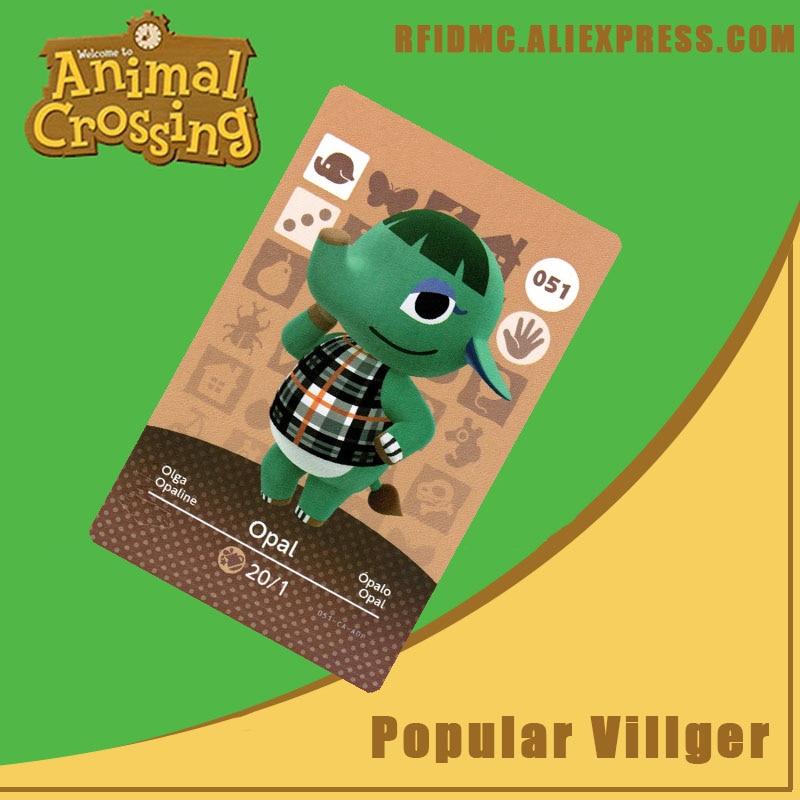 051 Opal Animal Crossing Card Amiibo For New Horizons