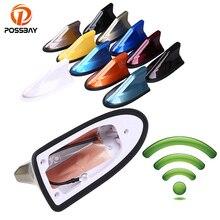 POSSBAY antenas universales para coche BMW, Honda, Toyota, Audi, VW, Ford y Nissan, antena de estilo aleta de tiburón