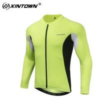 Майки для велоспорта мужские летние с длинным рукавом для езды на велосипеде использование поглощение влаги пот