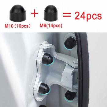 Auto rueda tuerca perno cabeza tapa perno de protección M8 M10 tapas Stem caso para Ford focus 2 focus 3 Fiesta EcoSpor accesorios de coche