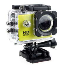 屋外スポーツアクションミニ水中カメラ防水カム画面の色防水ビデオ監視用カメラ