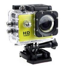 Câmera esportiva de ação ao ar livre, mini câmera à prova d água, tela colorida, resistente à água, vigilância por vídeo para câmeras d água
