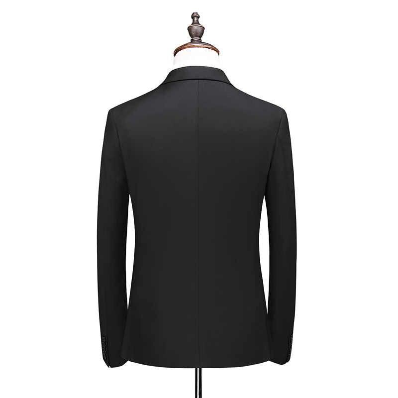 2020 nova chegada moda dupla breasted ternos masculinos, alta qualidade fino ajuste masculino casamento terno 8 cores tamanho M-5XL, 6xl