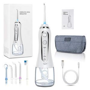 Image 2 - Oral Irrigator 5 Modes Portable 240ml Dental Water Flosser Jet USB Rechargeable Irrigator Dental Water Floss Tips Teeth Cleaner