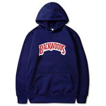 Men Sportswear Sweatshirts Hoodie Backwoods-Print Fashion-Brand Pullover Hip-Hop