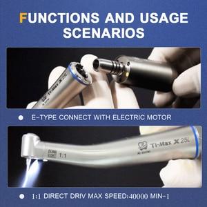 Image 5 - Pièce à main dentaire à basse vitesse Ti Max X25L pièce à main à contre Angle micromoteur 1:1