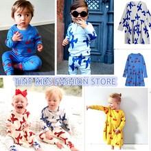 INS MINI kids pajama sets cosplay girls clothing se