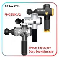 Phoenix A2 Electronic Body Massage Gun Therapy Body Massager Deep Muscle Massage Device Muscle Massage Relaxation Machine