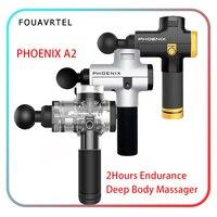 Phoenix A2 Deep Muscle Massage Gun Therapy Body Massager Electronic Muscle Massage Device Therapy Body Massage Relaxation Device