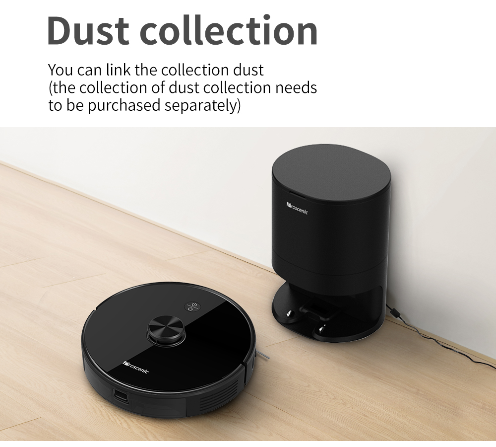 Proscenic M7 PRO Robot Vacuum Cleaner Automatic Suction Station For Proscenic M7 PRO Robot Vacuum Cleaner