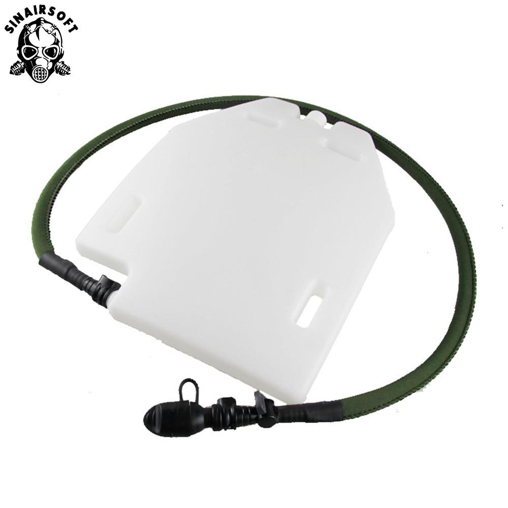 1.5L Plate Cut Hydrogen Storage Hydration Case Water Panel For Molle Combat Assault Plate Carrier JPC CPC AVS Tactical Vest