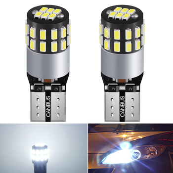 2x CANBUS NO ERROR T10 LED Bulb W5W Car Parking Light Turn Signal Lamp For Toyota C-HR Corolla Rav4 Hyundai Tucson 2017 2018 12V image