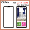 "6.1"" inch For LG G8 ThinQ G820N G820QM G820V G820UM Touch Screen Front Outer Glass Panel Replacement"