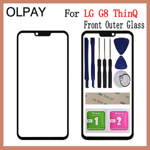 """Image 1 - 6.1"""" inch For LG G8 ThinQ G820N G820QM G820V G820UM Touch Screen Front Outer Glass Panel Replacement"""