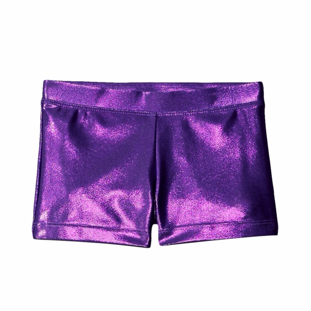 Suitable Bright Body Suit Ballet Gymnastics Clothing Dance Practice Wear Pants Shorts Girl Black Purple Pink Red Blue Tight