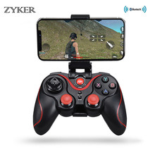 Newest Smart Wireless Android Gamepad T3 X3 Gaming Remote Control Wireless Joystick Game Controller bluetooth BT3.0 Joystick flydigi x9etpro bluetooth wireless game gaming controller gamepad for iphone for android aa battery control joystick