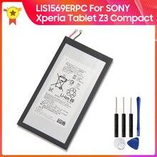 Batteria di ricambio originale LIS1569ERPC per SONY Xperia Z3 Tablet Compact 4.35V batteria originale 4500mAh