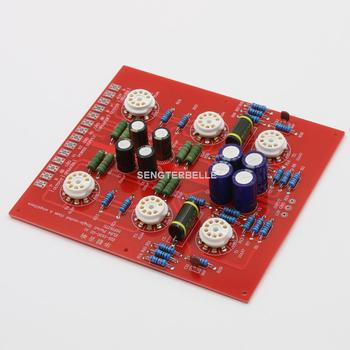 Assembled EL84 Parallel Single-Ended Class A Tube Amplifier Board ( No Tubes ) With PSU Board 1pair pass am single ended class a power amplifier board 10w with balanced input finished board