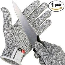 Безопасная устойчивая к порезам проволочная металлическая сетка из нержавеющей стали кухонные устойчивые к порезам перчатки для скалолазания на открытом воздухе Анти-порезные перчатки