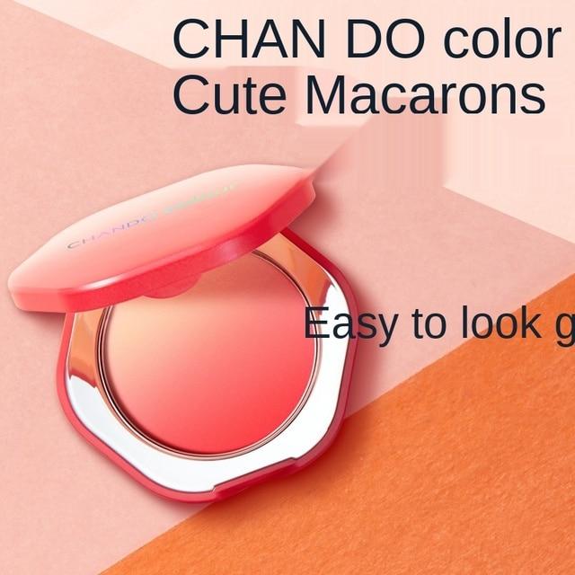 TT CHANDO Blush Gradient Face Shaping Blush 6G Free Brush Modify Outline Complexion Improvement Natural Repair 3