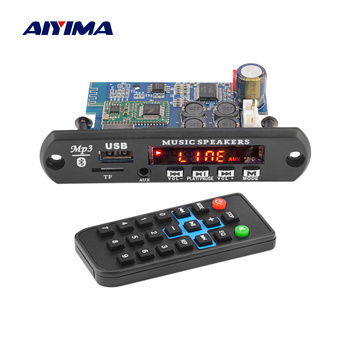 AIYIMA TDA7492P Bluetooth Amplifier Audio Amp 25Wx2 Stereo Amplifiers MP3 Decoder Board WAV APE Lossless Audio USB TF AUX 2 100w tda7498 bluetooth 5 0 digital audio amplifier board dual channel class d stereo aux amp decoded flac ape mp3 wma wav