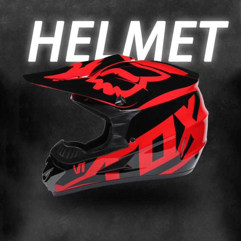 Safety Motocross Helmet Casco Motocross Bicycle Downhill Capacete ATV Cross Helmet Child Motorcycle Helmet Dot Abs 1KG Unisex