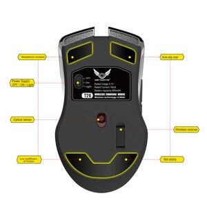 Image 3 - Zerodate novo TYPE C rato de carregamento rápido sem fio 2.4g colorido luz respiração preto adequado para computador portátil desktop