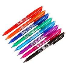 1 шт. Новинка 0,5 мм стираемая ручка 1 шт. заправки цветные красочные 8 цветов креативные инструменты для рисования студенческие инструменты для письма офисные канцелярские принадлежности