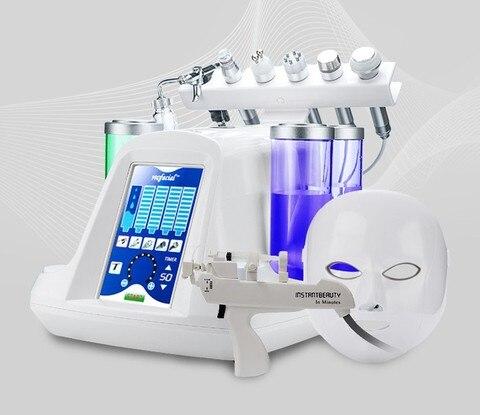 oxigenio jato de agua peeling maquina poros