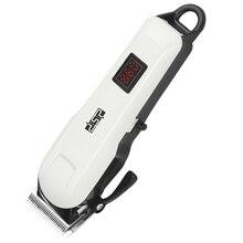 Leistungsstarke einstellbarer haar clipper professionelle elektrische cordless haar trimmer bart elektrische haar schneiden maschine haarschnitt für männer