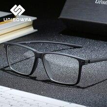 שחור TR90 מחשב משקפיים מסגרת גברים קוצר ראייה אופטית משקפיים אנטי כחול אור חסימת מרשם משקפיים