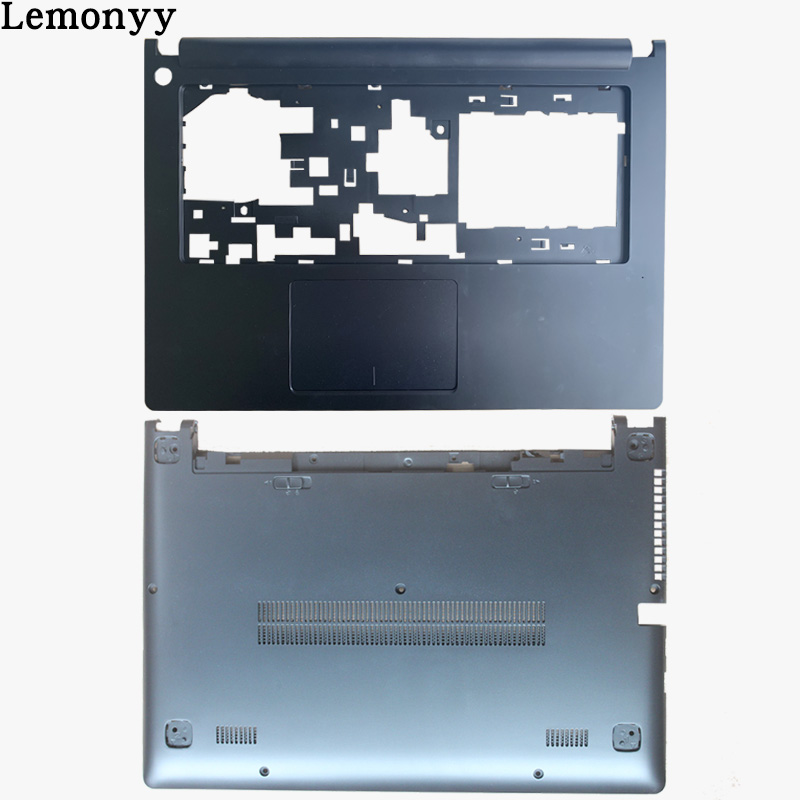 NEW BLACK COLOR FOR Lenovo Ideapad S400 S405 S410 S415 C Shell Palmrest Cover /D Shell Bottom Case