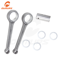 OUMURS Motorcycle Crankshaft Rod Connecting Conrod For Yamaha Virago XV250 XV125 Replacement 2UJ 11651 00 2UJ 11681 00 90209 313