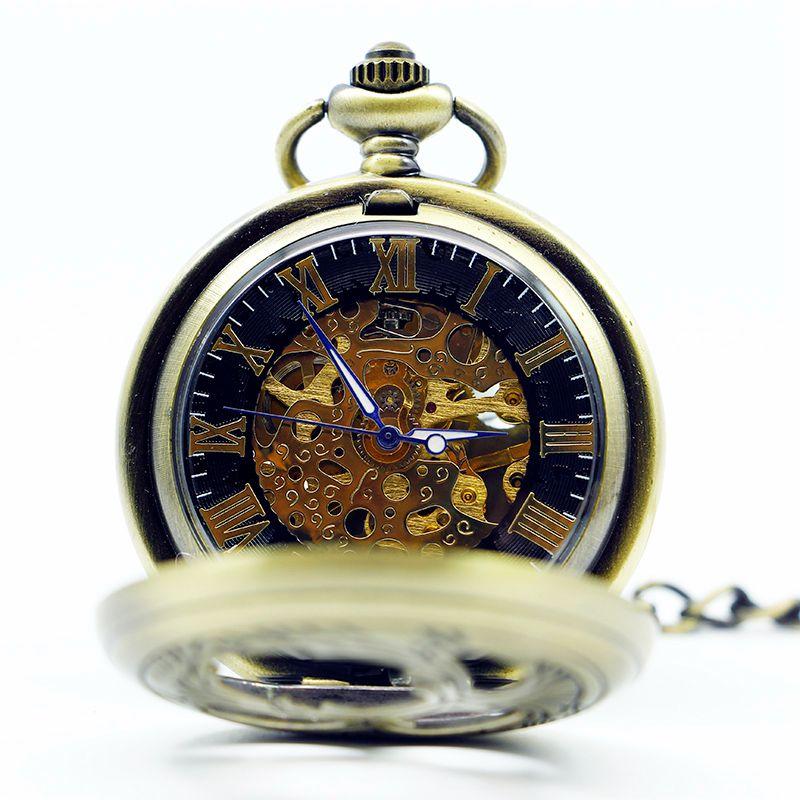 Vintage-Mascot-Phoenix-Bronze-Skeleton-Roman-Numberal-Mechanical-Pocket-Watch-Pendant-Men-Women-Gift-with-Chain (3)