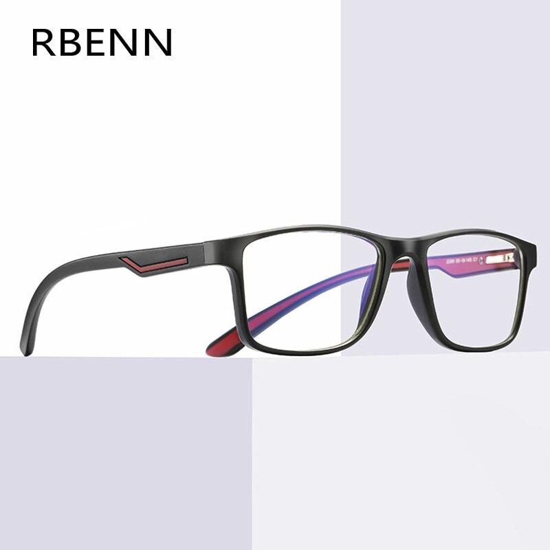 Мужские и женские очки для чтения RBENN TR90, анти-синий светильник очки для компьютерных игр, очки для пресбиопии + 0 0,5 0,75 1,75 4,5 5,0 6,0
