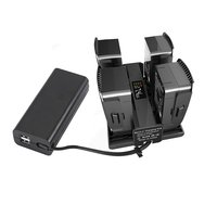 4 in 1 Portable Drone Battery Charger Converter Battery Charging Hub Smart Charger for DJI Mavic 2 Drone Accessories