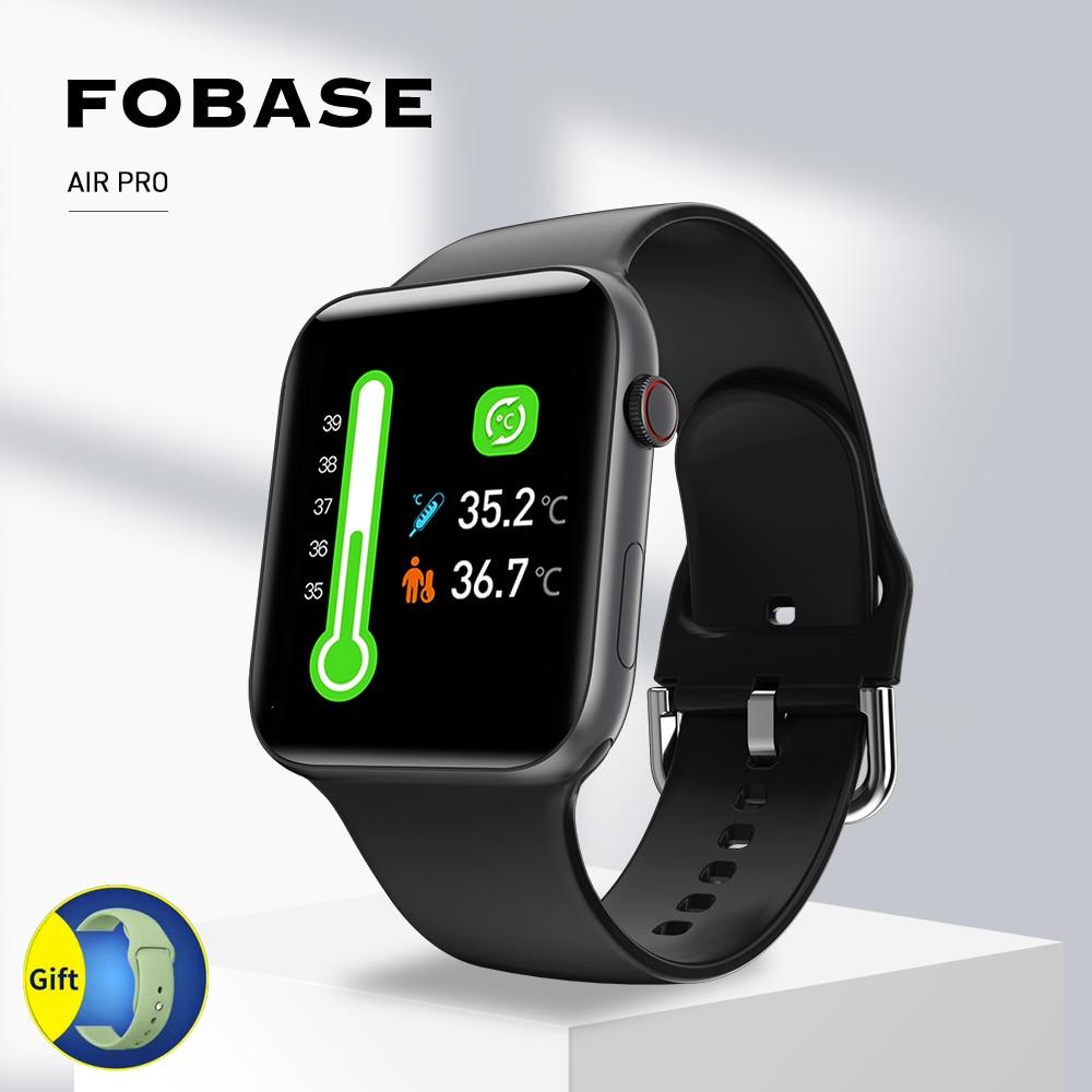 Fobase Air Pro Smart Watch Clock Men Sport Women Smartwatch 2020 Heart Rate Sleep Blood Pressure Monitor Bluetooth Android IOS