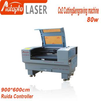 Laser Engraver Cutting 6090/9060 100w Power Ruida 6442S Support Russian Language 110V/220V Co2 Engraving Machine