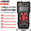 ANENG AN82 Professionelle Digitale Multimeter 9999 Tester DIY Transistor Kondensator NCV Tester True RMS Analog Meter Multimetro