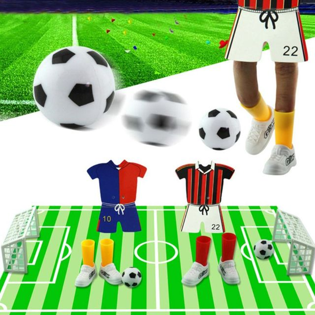 New Jersey Table Soccer Foosball Finger Soccer Match Toy Finger Game Sets Party Favors Kids Toy 2