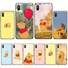 Cute Cartoon Little bear Customer High Quality Phone Case For iphone 4 4s 5 5s 5c se 6 6s 7 8 plus x xs xr 11 pro max nand pro box ip nand pro for iphone 4 4s 5 5c 5s 6 6p supported for ipad 2 3 4 5 6 supported